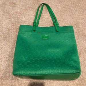 Micheal Kors green handbag